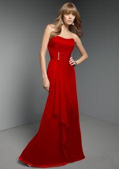 Long Bridesmaid Dress Option- Mori Lee Style #262 (chiffon with corset back)