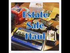Friday Estate Sale Haul To Sell On Ebay (September 18th)