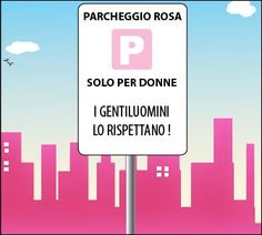 Cremona, parcheggio rosa