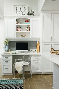 find this pin and more on kitchen designs - Kitchen Desk Ideas