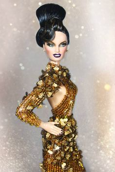 Bronze Obsession Barbie doll