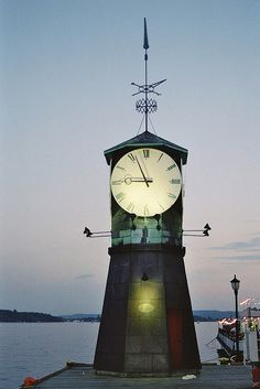 Clocktower Lighthouse~Norway