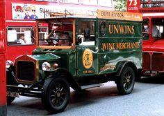 Wine merchants in a traffic jam, London