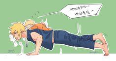 New funny anime couples baby ideas Naruto Comic, Naruto Shippuden Sasuke, Naruto Kakashi, Anime Naruto, Minato Kushina, Sakura E Sasuke, Naruto Fan Art, Naruto Cute, Sasunaru