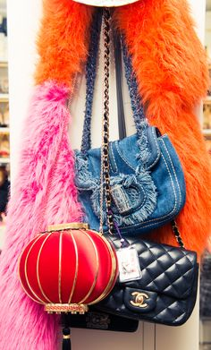 Her bag collection did not disappoint. http://www.thecoveteur.com/charlotte-olympia-dellal/