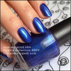 OPI Blue My Mind - Brights Collection 2005 - Black Label