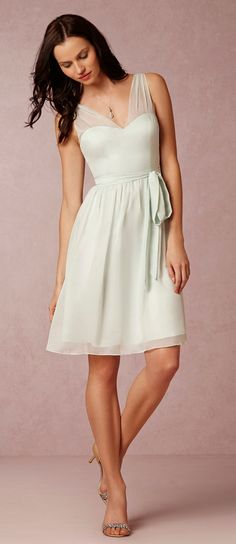 Soft mint dress