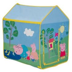 Play tent for garden (tall enough to stand in and have 2/3 kids in) Can store away in winter