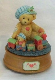 Cherished Teddies - Bear Playing W/Train, Musical - by ENESCO # 912964 by Cherished Teddies, http://www.amazon.com/dp/B006KIYC4Q/ref=cm_sw_r_pi_dp_WNn6qb069539S