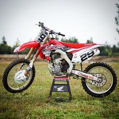 #HONDA #CRF250R #mx #mxlife #motocross #supercross #ridered #モトクロス