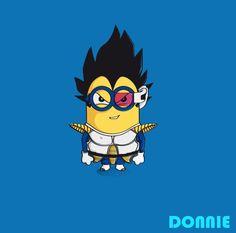 Les Minions à toutes les sauces par Donnie