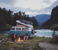world class free camping along the picturesque futalefu river in southern chile