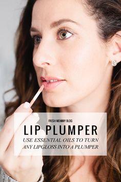 Easy At Home DIY Lip Plumper - Turn any lip gloss into a lip plumper!