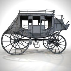 stagecoach coach 3d model - Stagecoach 02 by 3DRivers... by 3DRivers