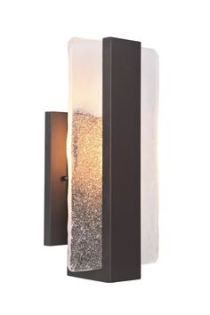 Orin Matte Black Integrated LED Outdoor Bulkhead Light | AllModern