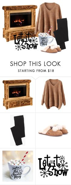 """""""home"""" by itgirl91 on Polyvore featuring DutchCrafters, Madewell e UGG"""