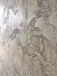 Wallpaper Accent Wall Kitchen Stencils 16 Ideas For 2019 Faux Walls, Textured Walls, Art Grunge, Creative Wall Painting, Venetian Plaster Walls, Polished Plaster, Trendy Wallpaper, Wall Wallpaper, Tadelakt