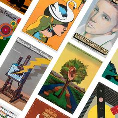 These prints and posters represent a significant range of my work over the last 40 years.~ Milton Glaser