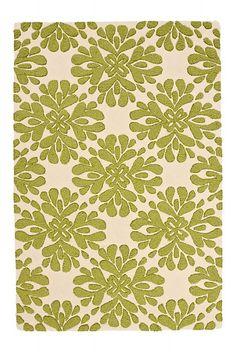 Anthropologie coqo floral rug.