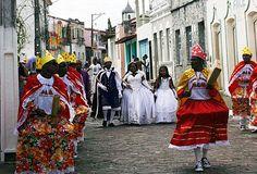 Cairu, Bahia - Brasil Congada - Festa de S. Benedito