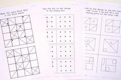 Visual Perception Activities Worksheets