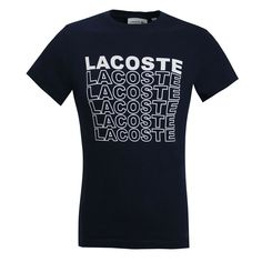 Lacoste mens t-shirt TH4237 166 Navy #Lacoste #TH4237166
