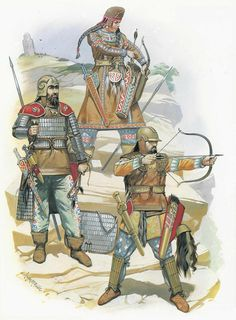 Kurdish warriors - Saladin was a Kurdish warrior who worked himself up through the ranks in his uncle Nur ed-Din's army. Saladin gained control of Egypt and then expanded his influence until he controlled Damascus, Syria, Alleppo, Mawsil and Iraq.
