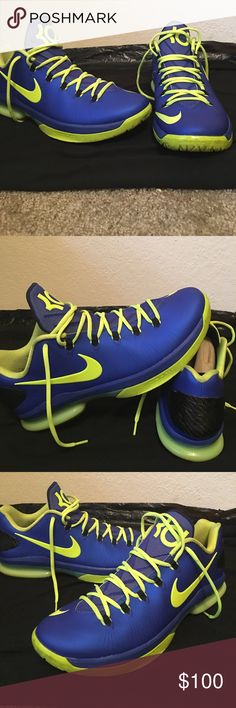 Kevin Durant Nike Zoom KD V Elite Low basketball shoes . No box and used but in good condition. Nike Kevin Durant Shoes Athletic Shoes