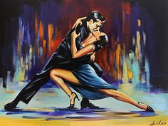 Choose your favorite tango paintings from millions of available designs. All tango paintings ship within 48 hours and include a money-back guarantee. Dance Pictures, Pictures To Paint, Tango Art, Dancing Drawings, Dance Paintings, Flamenco Dancers, Shall We Dance, Fantasy, Ballerina Feet