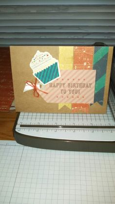 This was made using the Crate Paper Party Day collection!