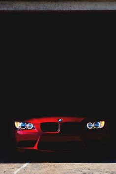 BMW, crawling out of the shadows. Watch out, it might be dangerous!