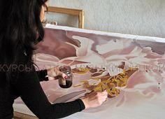Курсы батика Музы Кирницкой / Silk painting workshops / батик, курсы батика, шелк, роспись по шелку, silk painting, batik, hand painted silk, silk painting workshop