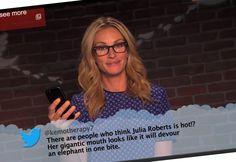 Editie 7 van Jimmy Kimmels 'Celebs read mean tweets'   Twittermania