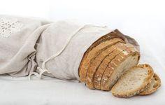 Natural Linen Bag Reusable Bread Keeper Storage by feltancrochet, $27.00
