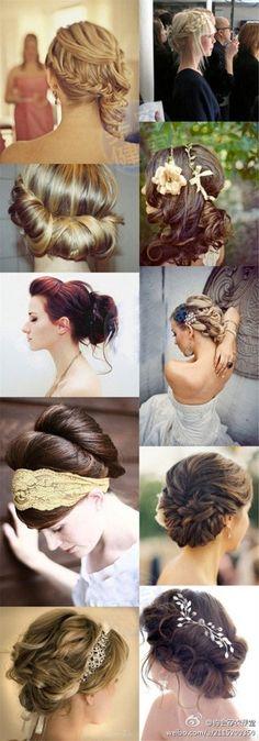 Formal hair hair