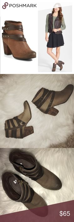 BP TRAIN BOOTIE BP TRAIN BOOTIE Size 8 (probably best suited for a 7.5). Too small for me. Way too tight. Worn a few times and in EUC. SUPER CUTE AND GREAT QUALITY. I SHOULD HAVE SIZED UP A HALF SIZE. 😔 bp Shoes Ankle Boots & Booties
