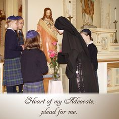 Heart of my Advocate, plead for me. #DaughtersofMaryPress #DaughtersofMary #Catholic #SacredHeart #SacredHeartofJesus #Prayer