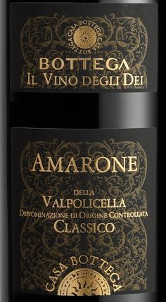 Top Italian Wine scoring 95 or higher | Bottega Amarone Della Valpolicella 2006 Wine Review