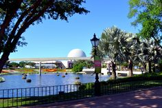 Walt Disney World - Epcot Theme Park  My favorite Disney park. Amazingly, this was taken during spring break 2011. Spaceship Earth in the background.