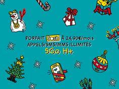 Nouveau ! Les forfaits H+ Sosh mobile à 24,90€ et Sosh mobile + Livebox à 54,90€ passent à 5Go de data au lieu de 3Go à partir du 19/12 ! Plus d'infos ici http://sosh.sh/1fbAFcK