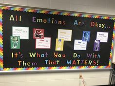 Inside Out | Emotions | Special Ed |Elementary Ed | Bulletin Board