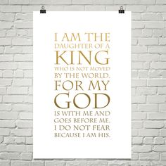 I Am The Daughter Of A King