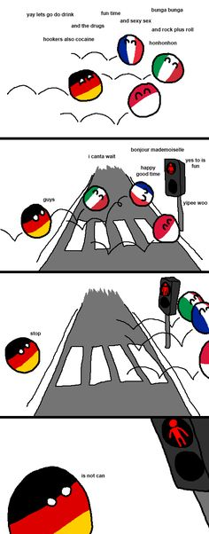 """Red Light"" ( Germaney ) by arrz #polandball #countryball #flagball"
