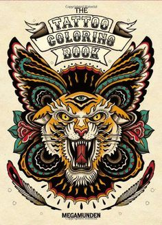 Plan out your next tattoo with this incredible coloring book with foil-spotted pages. ($14.95)