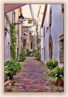 Walked these streets with my Stacy. Places In Spain, Places To See, Beautiful Places To Visit, Wonderful Places, Travel Around The World, Around The Worlds, Barcelona, Spain And Portugal, Spanish Style
