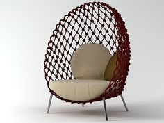 Kenneth Cobonpue Dragnet Lounge Chair | Kenneth Cobonpue
