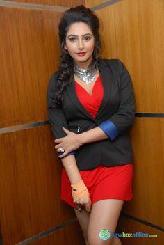 Ragini Dwivedi New Pics Ragini Dwivedi at Namaste Madam Press Meet Short Skirts, Namaste, Meet, Blazer, Jackets, Women, Fashion, Down Jackets, Moda