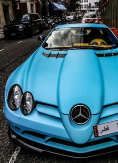 Mercedes SLR #AwesomeMachines