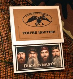 The 68 best duck dynasty party ideas images on pinterest duck a duck dynasty birthday bash filmwisefo