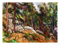 the master... Cezanne's quarry beneath Mont Ste. Victoire